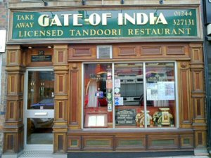 Gate Of India. PLease click to see the Menu.