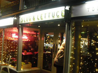 The Slug and Lettuce. Please click for Pub Review