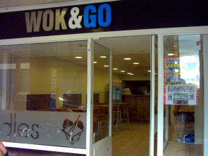 Wok & Go. No Website