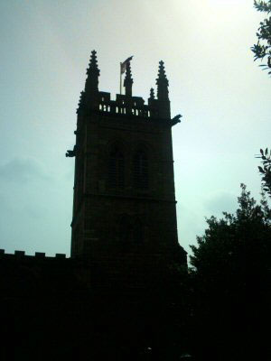 The Church Tower, St. Mary's Church on the Hill