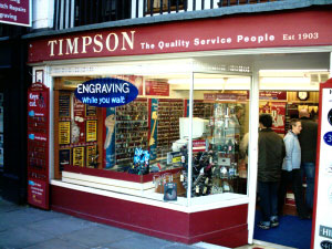 Watergate Street - Timpson. Please click here for www.timpson.co.uk