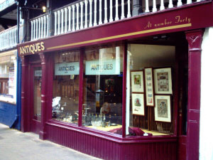 The Antiques Shop Chester. Please click for website