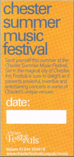 Chester Summer Music Festival