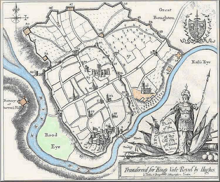 Chester Tourist Civil War Defences