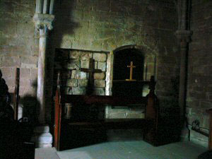Inside Chester Castle Chapel