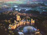 Peckforton Castle Near Chester from above